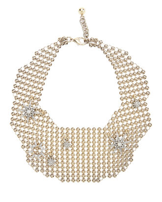 Radiant Mesh Necklace, METALLIC, hi-res