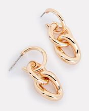 Kaia Chain-Link Earrings, GOLD, hi-res