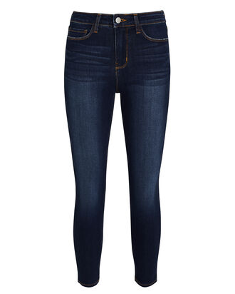 Margot High-Rise Skinny Jeans, BALTIC, hi-res