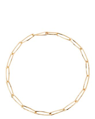 Pirouette Chain-Link Necklace, GOLD, hi-res