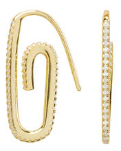 Hooked On You Earrings, GOLD, hi-res