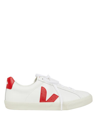 Esplar Low-Top Sneakers, WHITE/RED, hi-res