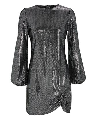 Polina Sequined Mini Dress, BLACK, hi-res
