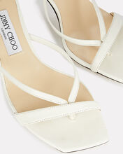 Maelie 70 Leather Thong Sandals, WHITE, hi-res