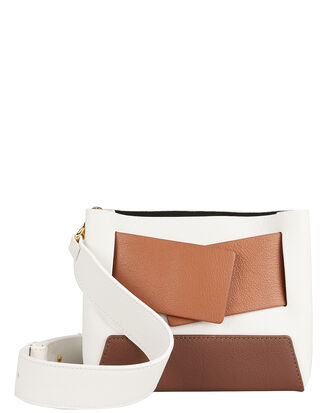 Dinky Shoulder Bag, WHITE/BEIGE/BROWN, hi-res