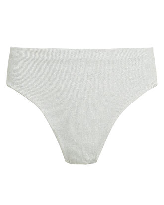 Arena High-Rise Bikini Bottoms, SILVER, hi-res