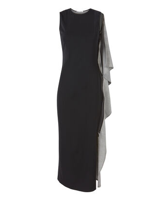 Sterling Ruffle Side Dress, MULTI, hi-res