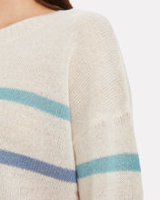 Perci Striped Wool Sweater, WHITE/MULTI STRIPE, hi-res