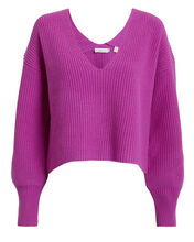 Melanie Sweater, MAGENTA, hi-res