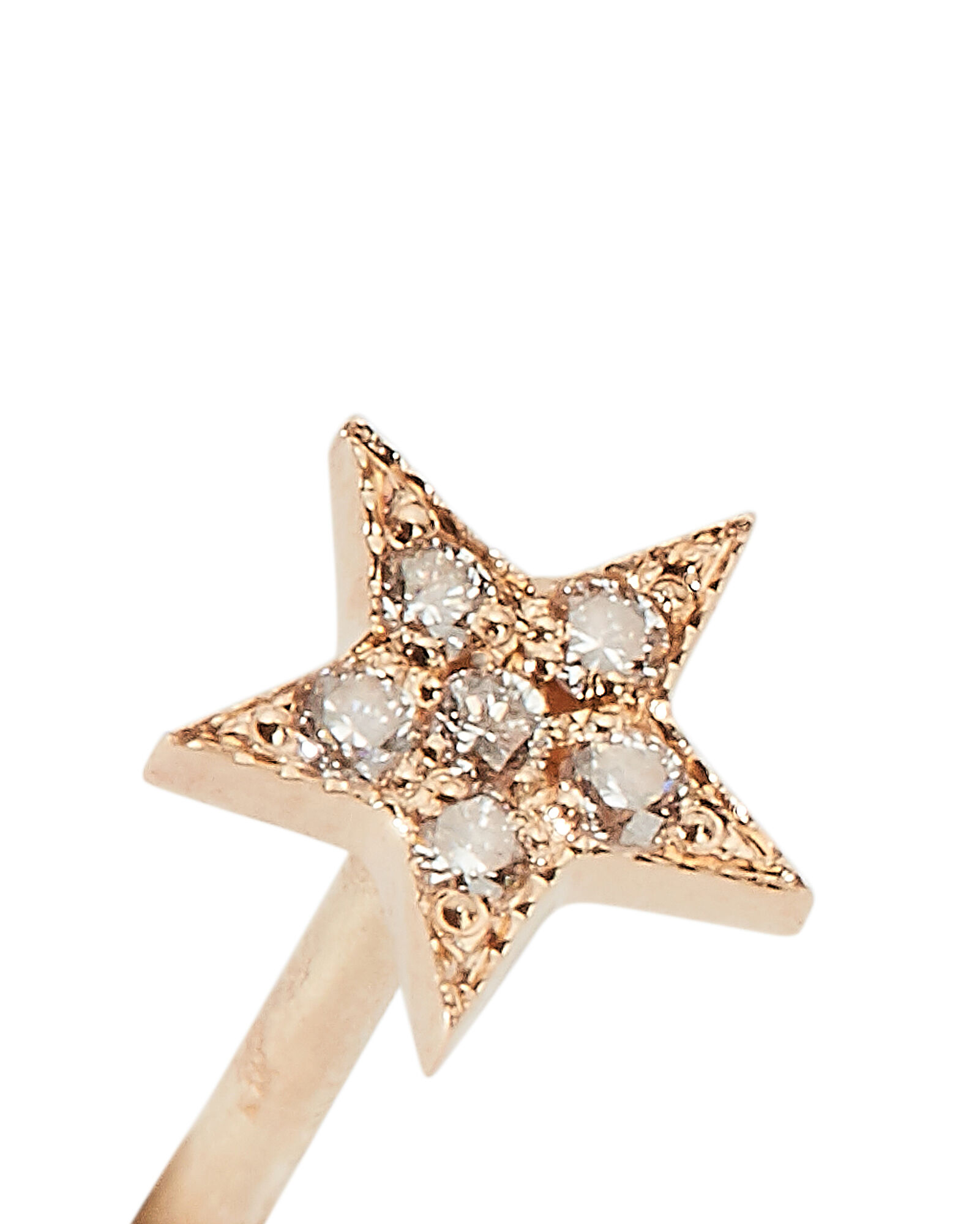 Itty Bitty Star Single Stud Earring, GOLD, hi-res