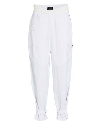 Dallas High-Rise Cargo Pants, WHITE, hi-res