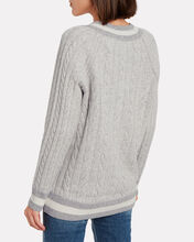 Theon Merino Wool Cable Knit Sweater, GREY-LT, hi-res
