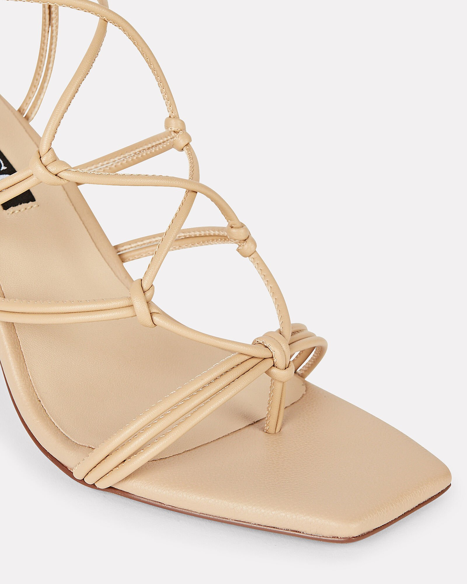 Venice II Knotted Leather Sandals, BEIGE, hi-res