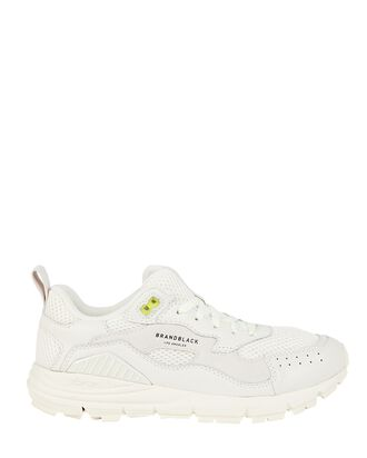 Nomo Leather Low-Top Sneakers, WHITE, hi-res