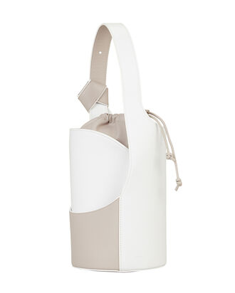 Lily Mini Bucket Bag, BEIGE, hi-res