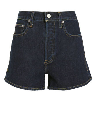 Allie Denim Shorts, DENIM-DRK, hi-res
