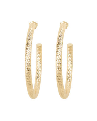 Coley Hoop Earrings, YELLOW GOLD, hi-res