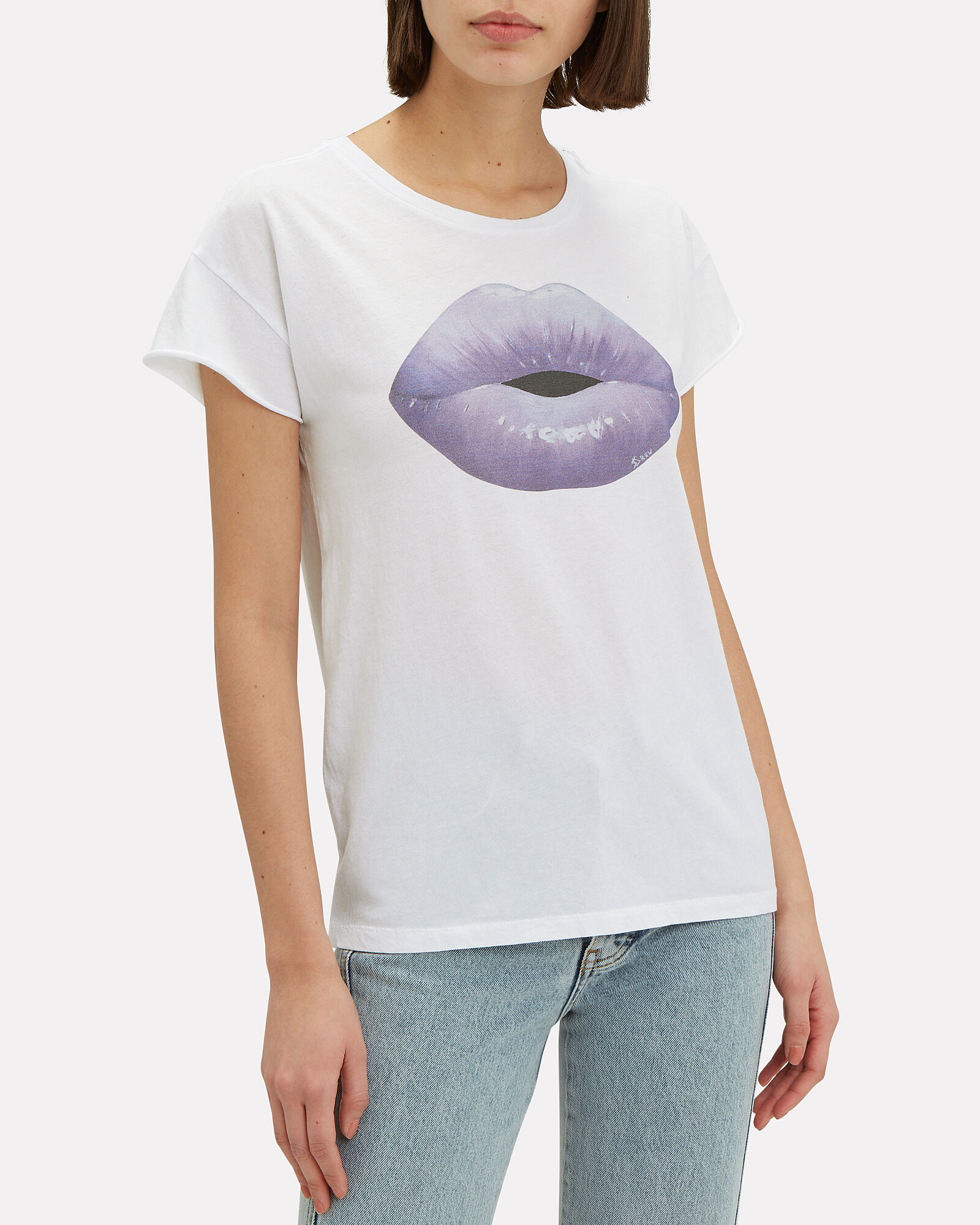 Kiss Me T-Shirt, WHITE, hi-res