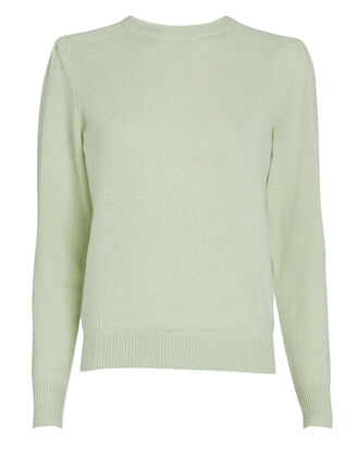 Easy Cashmere Crewneck Sweater, ALOE, hi-res