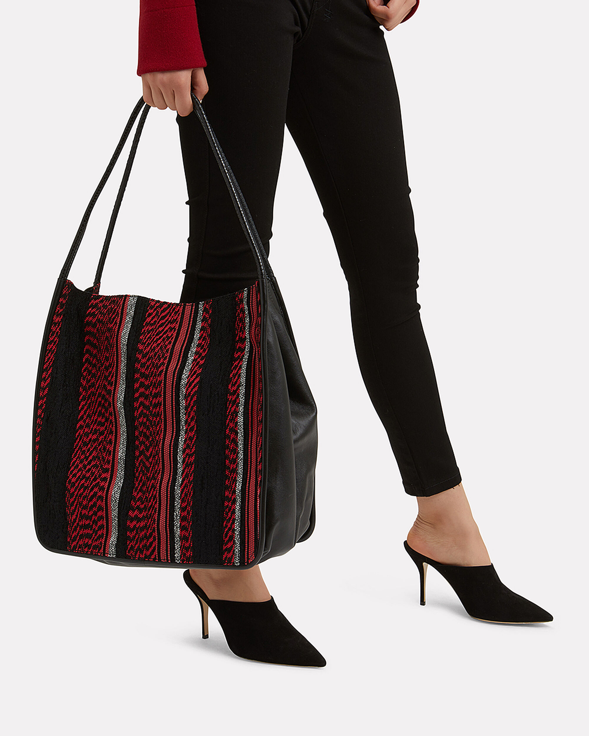 Woven Extra Large Tote, MULTI, hi-res