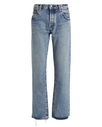 Norwalk Straight-Leg Jeans, LIGHT WASH DENIM, hi-res