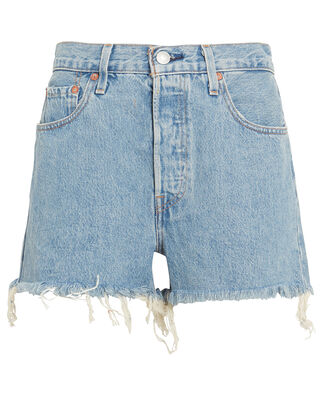 501 High-Rise Denim Shorts, DENIM, hi-res