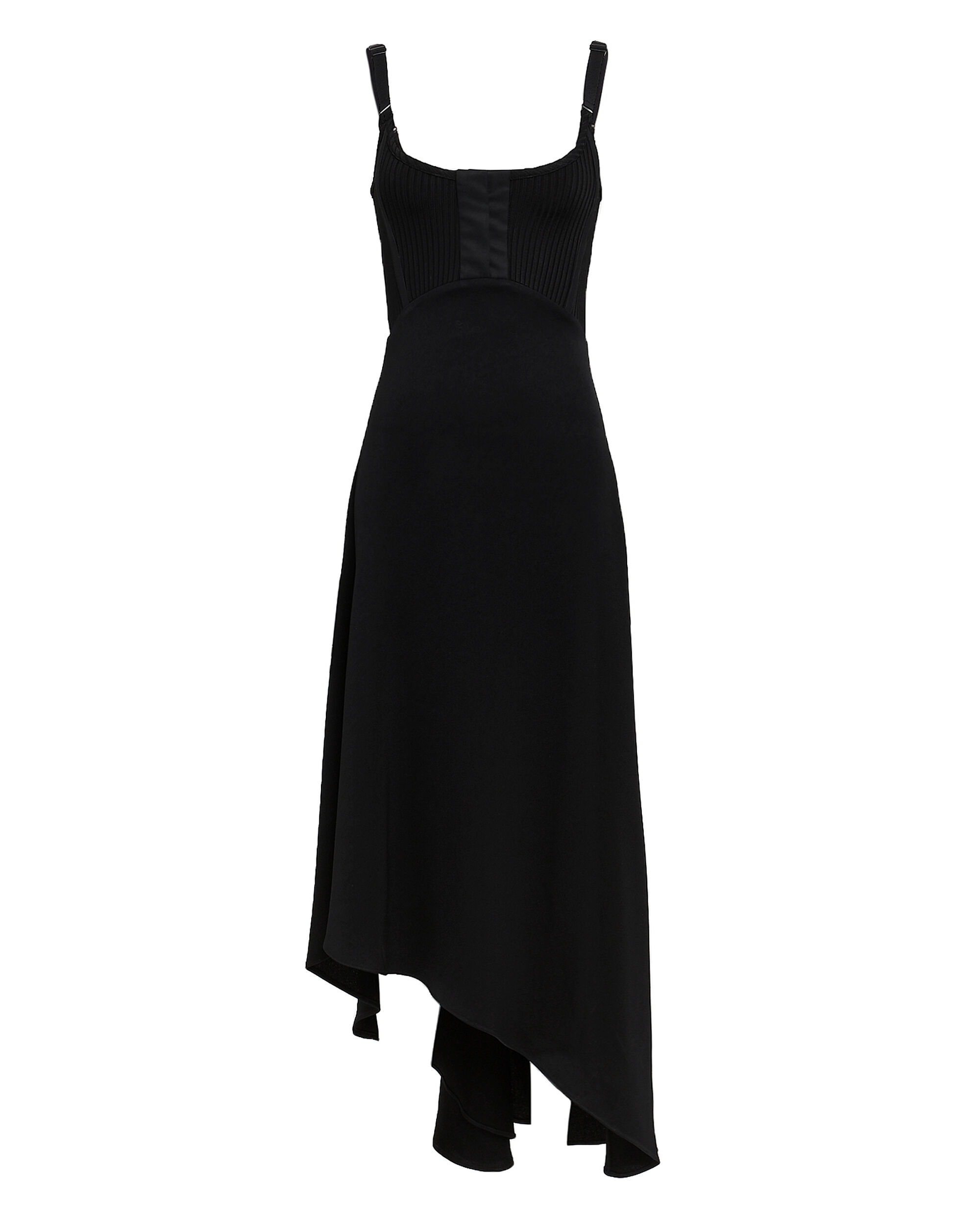 Armoire Corset Slip Dress, BLACK, hi-res