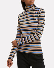 Striped Jersey Turtleneck, MULTI, hi-res