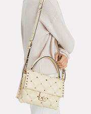 Candystud Shoulder Bag, IVORY, hi-res