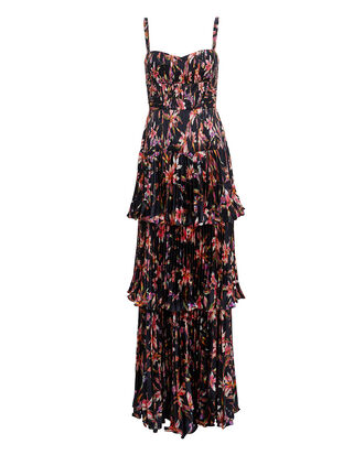 Londyn Dress, NAVY/FLORAL, hi-res