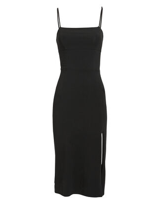 Lucia Midi Dress, BLACK, hi-res