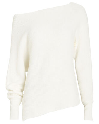 Virginia Off-The-Shoulder Sweater, IVORY, hi-res