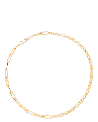 Axiom Deconstructed Chain Necklace, GOLD, hi-res