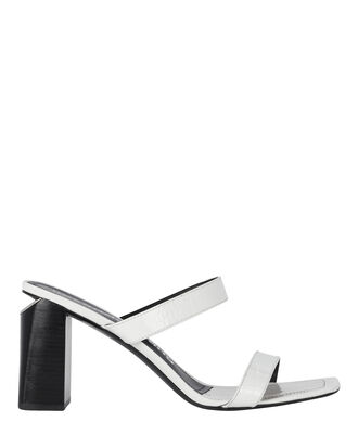 Hayden Slide Sandals, WHITE, hi-res
