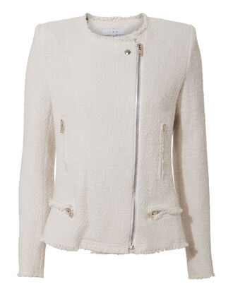 Lola White Jacket, WHITE, hi-res