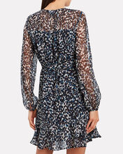 Paige Printed Silk Dress, MULTI, hi-res