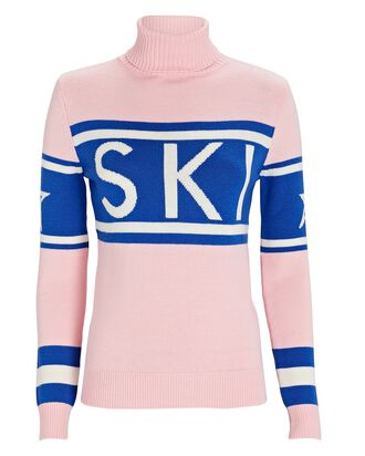 Schild Ski Turtleneck Sweater, PINK, hi-res