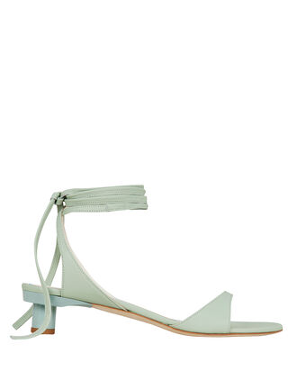 Scott Leather Sandals, GREEN-LT, hi-res