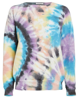 The Hugger Tie-Dye Sweatshirt, BLUE/PURPLE TIE-DYE, hi-res