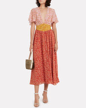 Ditsy Floral Chiffon Dress, MULTI, hi-res