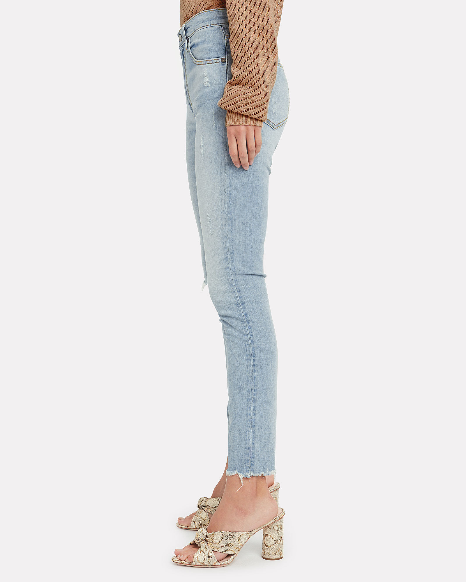 The Donny High-Rise Skinny Jeans, LIGHT WASH DENIM, hi-res