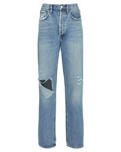 Fitted 90s Straight-Leg Jeans, LINEUP, hi-res