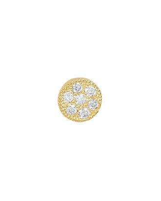 Itty Bitty Round Single Stud Earring, GOLD, hi-res