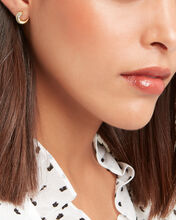 Heirloom Small Wrap Hoops, GOLD, hi-res