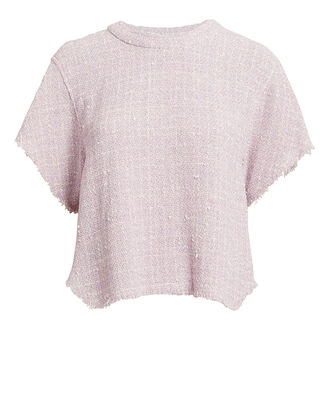 Devan Tweed Top, LILAC, hi-res