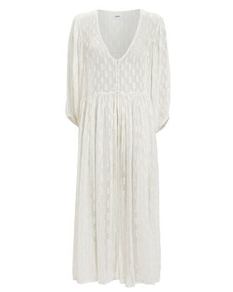 Alchemy Chiffon Cover-up Robe, IVORY, hi-res