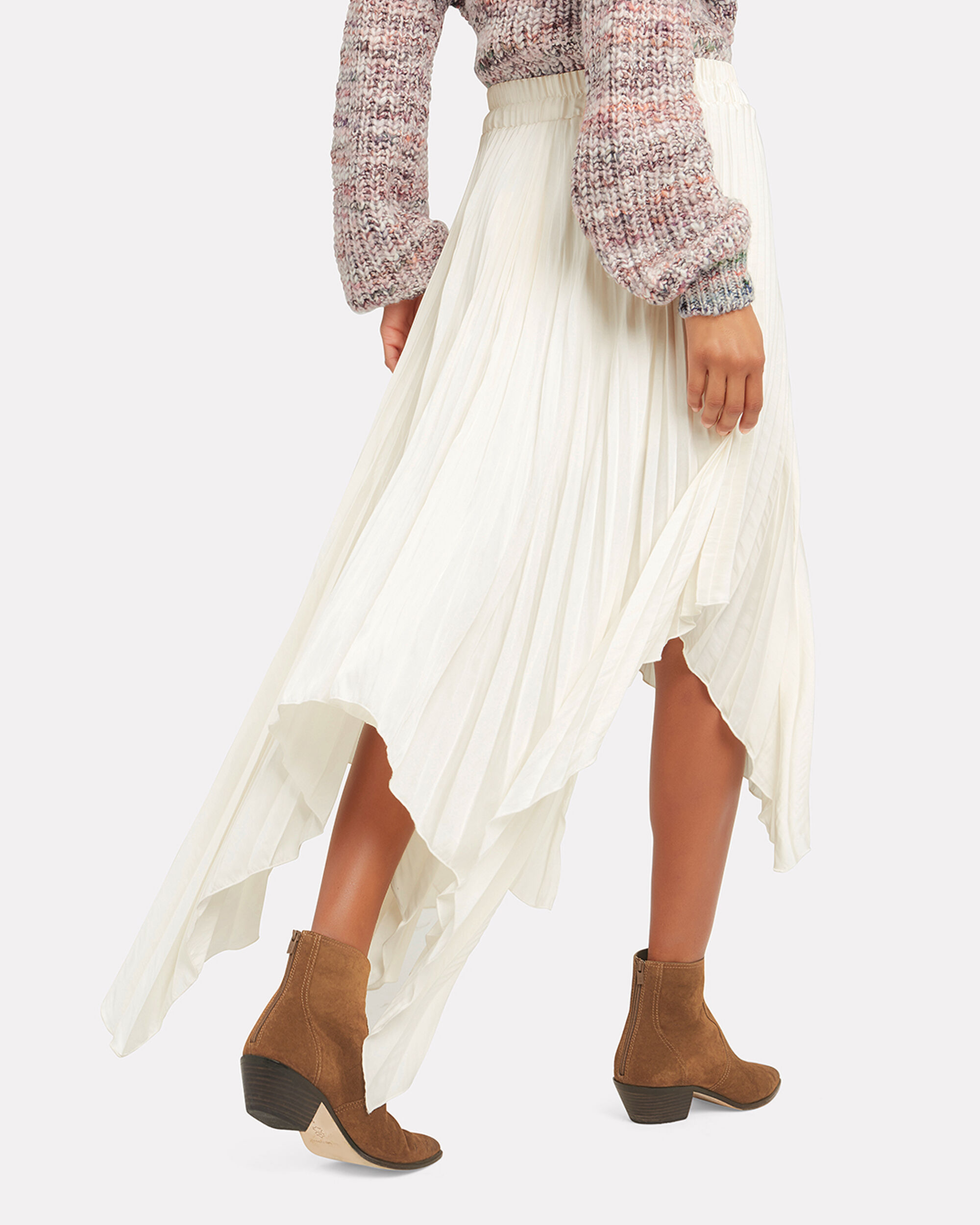 Sway With Me Maxi Skirt, IVORY, hi-res