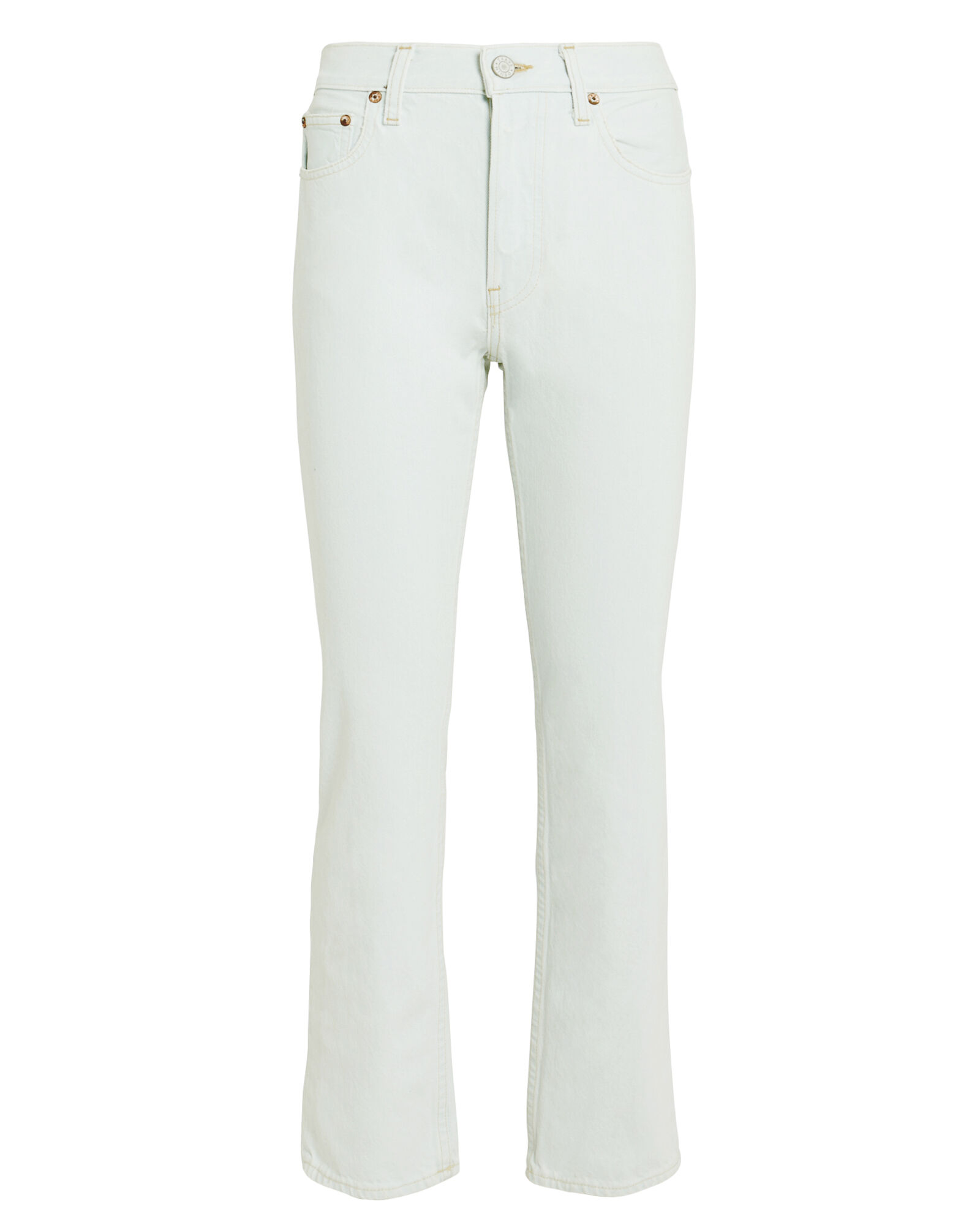 Constance Cropped Straight Leg Jeans, LIGHT WASH DENIM, hi-res