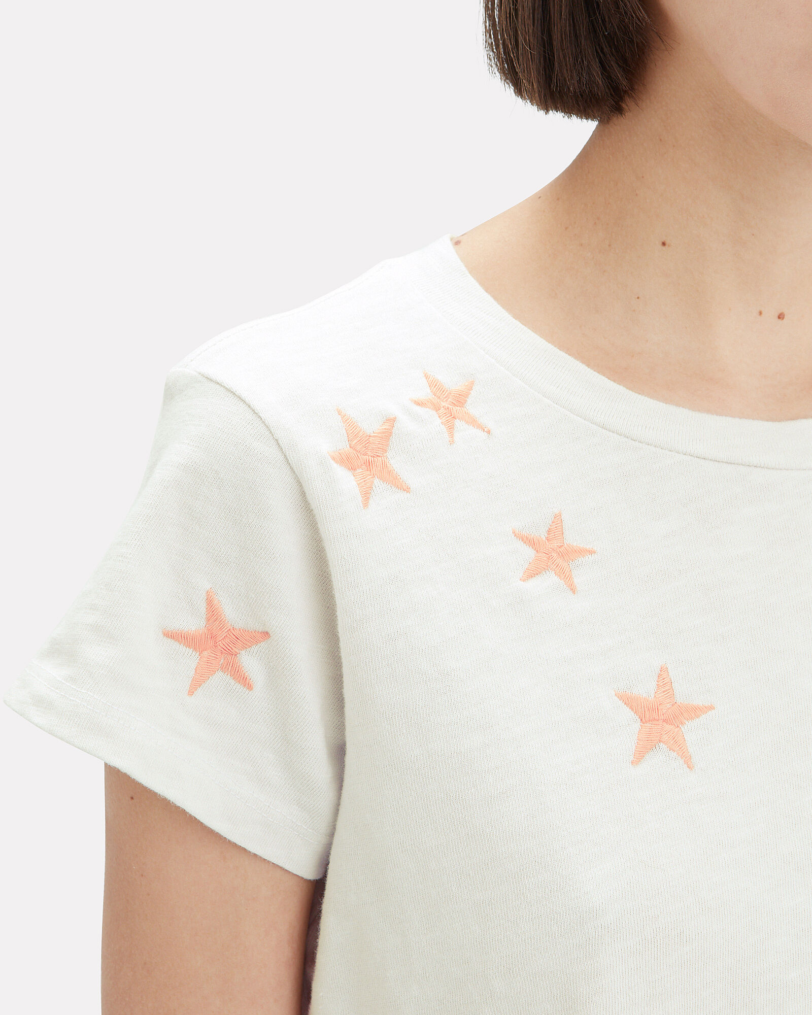 Boxy Goodie Star T-Shirt, WHITE, hi-res