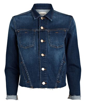 Janelle Cropped Denim Jacket, TRINITY, hi-res